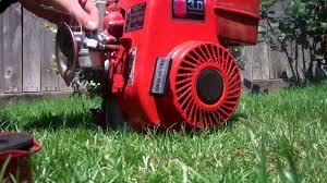 Tecumseh 3.0 hp Horizontal Shaft Engine (rebuilt) - YouTube