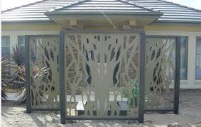 metal fence panels. Top Decorative Metal Fencing With Fence Panels 26