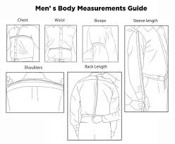 How To Measure Your Body For Mens Jacket Lusso Leather