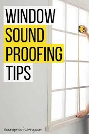 how to soundproof a window 13
