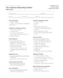 Employee File Checklist Free Disciplinary Action Form Personnel File Template