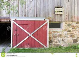 red and white barn doors. Red Barn Door And White Doors O