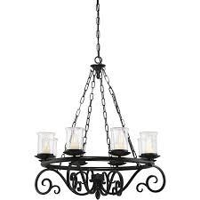 savoy house welch eight light 33 inch outdoor chandelier black 1 1120