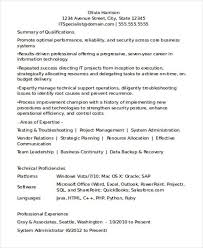 Salesforce Experienced Resumes 8 Years Experience Resume Format Experience Format Resume Years