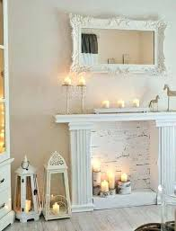 white faux fireplace best mantels ideas on ana with storage