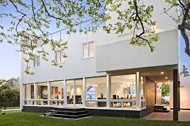 bay house design art deco new york 3 Art Deco Style Houses Belmont Freeman  Brings Art