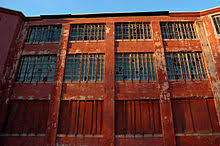 broken windows theory the broken windows of an abandoned hospital building in northampton massachusetts