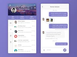 Chat Ui Design Android Pin On Ui