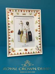 royal crown derby royal baby derby photo frame