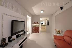 Bedok 40 Room Flat Hdb Home Interior Kitchen Living Room Simple Apartment Design Remodelling