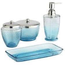 Regency Aqua Blue Bath AccessoriesAqua Colored Bathroom Accessories