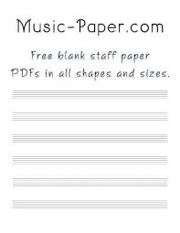 Music Paper Template | Kicksneakers.co