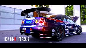 FORZA 5: Nissan Skyline R34 GTR V-SPEC II DRIFT [DomesticMango ...