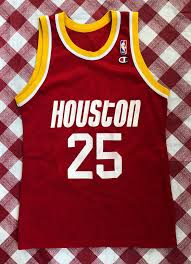 1993 Robert Horry Houston Rockets Champion Nba Jersey Size 40