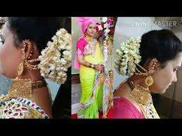 simple makeup for indian wedding reception l bridal makeup l simple bridal bun hairstyles make up