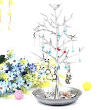jewelry stands tree shaped display earring stand pendants holder stud rack hanger wire new