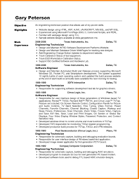 Word Computer Technician Cover Letter Offecial Resume Objective