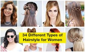 diffe types of hairstyles for women