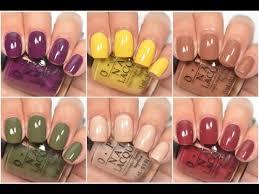 Opi Gel Color Chart 2016 Top Winter Nail Polish Picks Glitter Polishes 2016 Nail