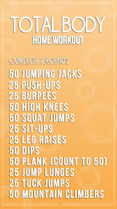 looking for a high intensity home workout
