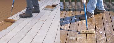 how to apply a deck stain sherwin