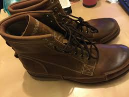 timberland earthkeepers rugged original leather boot brushed brow am men s shoes brown