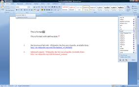 Tips And Tricks Font And Paragraph Formatting In Endnote