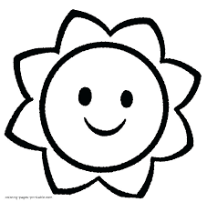 Flower Coloring Pages For Toddlers At Getdrawingscom Free For