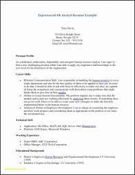 First Resume Template Fresh Job Examples Of Templates How To Write