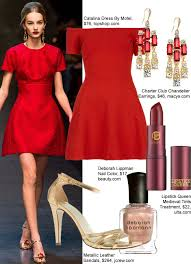 what to wear to a holiday party the little red dress