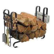 firewood racks with tools woodlanddirect com firewood racks carriers tool and wood holders fireplace tools wood holder