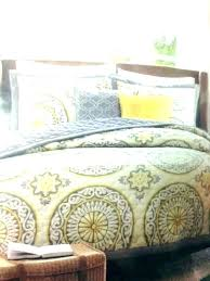 yellow and grey duvet cover grey yellow bedding yellow grey and white duvet cover