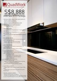 kitchen design consultant fees with package promo book an appointment quadwork pte ltd