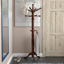 Traditional Coat Rack Classy Three Posts Traditional Coat Rack Reviews Wayfair