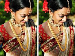 how to do south indian bridal makeup with pictures