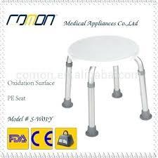 round shower stool round sha plastic top bath shower stool chair seat aluminum frame teak shower round shower stool