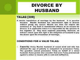Divorce Notice Format Magnificent Divorce Under Muslim Law