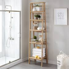 stylish bathroom shelves
