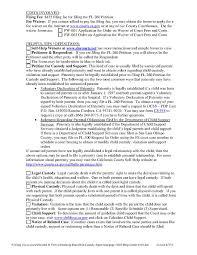 Custody Agreement Template 030 Voluntary Child Custody Agreement Form Ontario Template