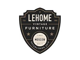 vintage furniture logo. Lehome Vintage Furniture By Steve Wolf Logo N
