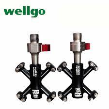 WELLGO X bicycle pedal bearings ultralight <b>QRD</b> BMX folding bike ...