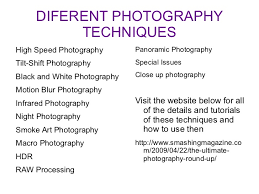 Types Of Photography Different Styles And Types Of Photography For Record