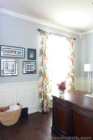 office drapes. World Market Drapes Floral Office Curtains White Crinkle