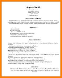 10 Teaching Assistant Resume Sample Letter Signature