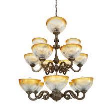 picture of tawau three tier chandelier