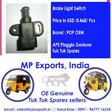 Ape Tuk Tuk Spares Brake Switch Black Buy High Performance Of Tuk Tuk Spares Ape Piaggio Original Ape Tuk Tuk Spare Parts 3 Wheeler With Best