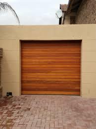 single garage doorWooden Single  Garage Door King