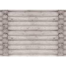 Fototapete No 2998 Vlies Holz Tapete Holzoptik Holzwand Holzstämme Grau Motiv 2998