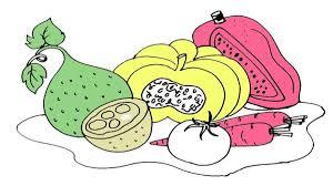 Tổng hợp vô số tranh tô màu các loại rau củ quả cho bé yêu – TRANH TÔ MÀU  CHO BÉ