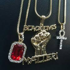 14k gold plated iced out chains bo